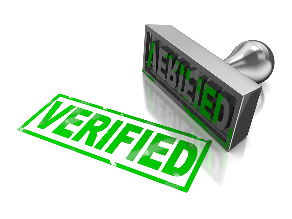 верификация аккаунта