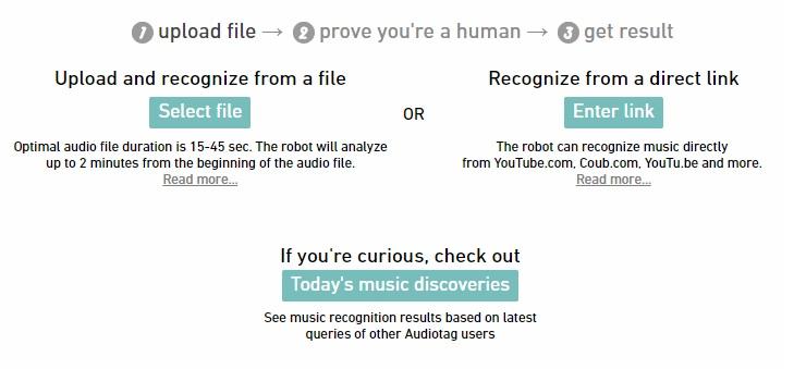Приложение для распознавания музыки